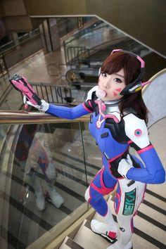 Miyuko's D.Va Cosplay Looks Like an In-game Shot - 2P.com - Overwatch - news