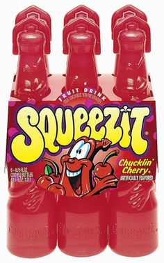Squeezits - because lunch at school was 10x better if your mom had packed you one of these badboys. The color-changing ones? The ultimate.