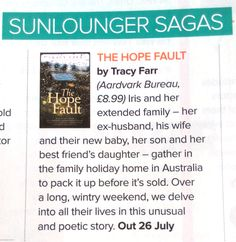 The Hope Fault's review in Prima Magazine  #summerReads Prima Magazine, Extended Family, Ex Husbands, New Baby Products, Best Friends, Novels, Reading, Beat Friends, Word Reading