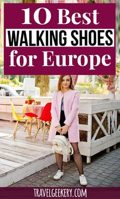Best Walking Shoes for Europe: See my pick of 10 best travel shoes for Europe for all seasons (spring, summer, autumn, winter) and all travel styles. Walking shoes for travel that are…More Europe Destinations, Europe Travel Tips, European Travel, Travelling Tips, Travel Articles, Amazing Destinations, Traveling, Packing Tips For Vacation, Travel Packing