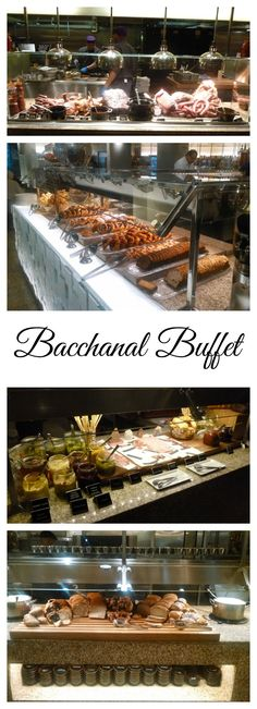 Bacchanal buffet in Caesars Palace Las Vegas.