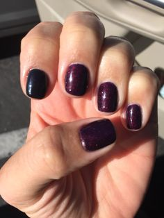 Opi gel in every day is Oktoberfest and black! Love