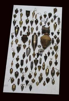RARE Huge Collection of Old 172 Plumb Bobs Brass Bronze Iron Aluminium Copper | eBay