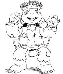 Image result for franklin the turtle coloring pages