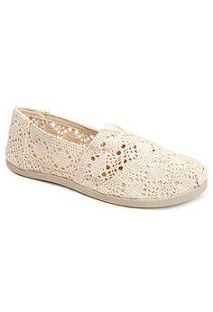 697f4af318cc Plus Size Apple Crochet Flat. Sheila Schiff · Shoes