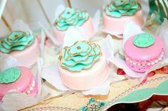 Shabby Chic Baptism Dessert Social via KarasPartyIdeas.com #baptism #dessertparty #PartySupplies #BaptismParty #Christening #ShabbyChic (9)
