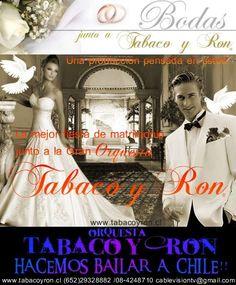 ORQUESTA TABACO Y RON  EN TU MATRIMONIO UNA PRODUCCIÓN PROFESIONAL PENSADA EN USTED  y EN SUS ..  http://las-condes.evisos.cl/orquesta-tabaco-y-ron-en-tu-matrimonio-id-531953