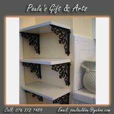 DIY simple elegant shelves with wood. #DIY #Shelves #wood