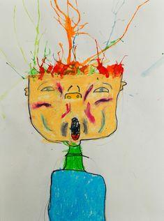 artisan des arts: Scream! - grade 3/4 About A Week Ago, Library Art, Art Programs, Grade 3, Scream, Artisan, Projects, Painting, Inspiration