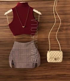 Casual Skirt Outfits, Crop Top Outfits, Summer Fashion Outfits, 90s Fashion, Fashion Photo, Spring Summer Fashion, Stylish Outfits, Cool Outfits, Indian Fashion Trends