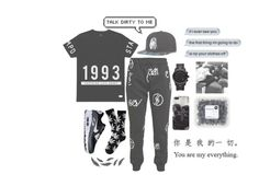 """quick set //"" by liamreece ❤ liked on Polyvore featuring Stampd, Abrahamsson, Last Kings, HUF, NIKE and Michael Kors"