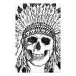 Native skull face art stationery #halloween #happyhalloween #halloweenparty #halloweenmakeup #halloweencostume