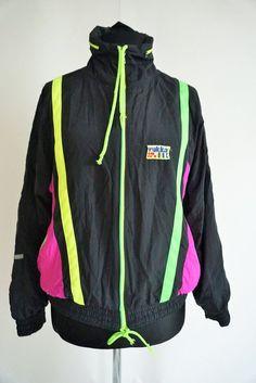 a46c5ba203 Vintage Windbreaker Jacket   Sportswear   Running Run Gear   Outwear    Small   S
