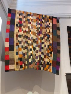 Here are some details from the 'Early to Bed' exhibition  at the Welsh Quilt Centre.  It closed on Saturday, so if you didn't get to visi...
