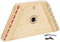 Amazon.com: Hape Happy Harp Kid's Wooden Musical Instrument: Toys & Games
