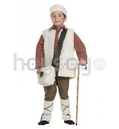 completo disfraz de pastor para tus fiestas navideas compuesto por camisa de cuadros