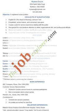 oncology nurse resume templates httpwwwresumecareerinfooncology
