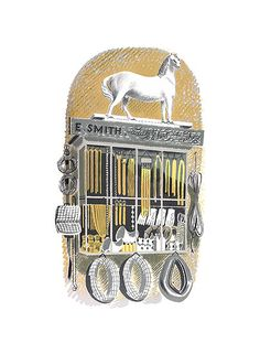 Saddlers & Harness Makers by Eric Ravilious