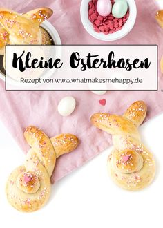 Die Oster-Bäckerei ist eröffnet: Süße kleine Osterhasen für das Osternest / Ostern / Easter / Osterhasen autour du tissu déco enfant paques bébé déco mariage diy et crochet Chocolate Cake Recipe Easy, Chocolate Recipes, Easter Recipes, Holiday Recipes, Easy Cake Recipes, Dessert Recipes, Easter Brunch, Easter Food, Easter Eggs