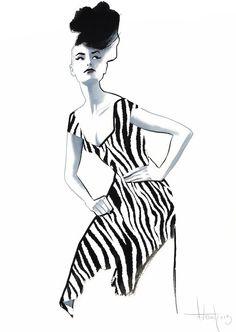 Fashion by Fernando Vicente, via Behance