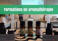 Formations d'aromathérapie à la Compagnie des Sens