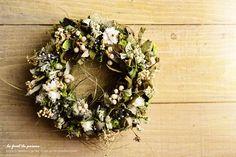 Wreath 6|プリズムの森 La foret de Prisme ー*。 Cafe Rustique et Naturel 。*ー