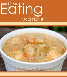 Clean Eating Meal Plan #4