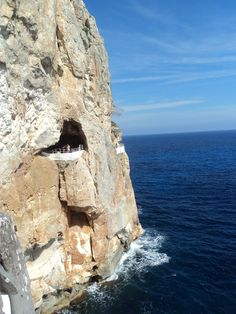 Spain, Baleares, Menorca, Cova d'en Xoroi