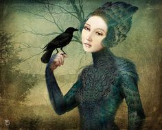Christian Schloe ~ Chilean Surrealistic Visionary painter