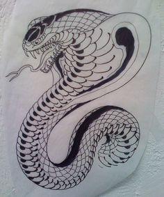 Alfa img - Showing > Cobra Tattoo Drawings