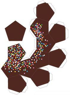 Cardboard Box Crafts, Paper Crafts Origami, Diy Paper, Paper Art, Diy Arts And Crafts, Crafts For Kids, Diy Crafts, Instruções Origami, Printable Crafts