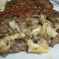 Cheese-Stuffed Meatloaf Recipe | Key Ingredient