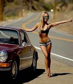 babes and porsche Porsche Classic, Classic Cars, Porsche Gt2 Rs, Porsche Cars, Auto Girls, Car Girls, Sexy Cars, Hot Cars, Sexy Autos