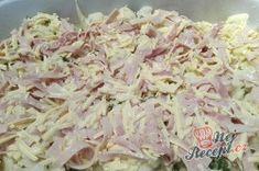 Zapečený květák se šunkou a sýrem | NejRecept.cz Potato Salad, Cabbage, Potatoes, Album, Vegetables, Ethnic Recipes, Fitness, Food, Potato