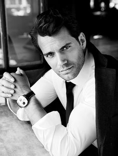 *Sigh* Henry Cavill could totally be Bastien Thorne. Those eyes are totally scorching. This man is smoking.