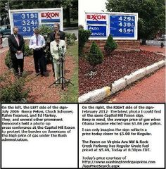 Gee, these people were screaming about gas prices when a republican was president, where are they now?