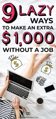 These 9 easy ways to make extra money are amazing! You can really make extra mon.These 9 easy ways to make extra money are amazing! You can really make extra money from home without a job! You need to check them out to see which on. Make Easy Money, Make Money Blogging, Money Saving Tips, Way To Make Money, Money Tips, Ways Of Making Money, Quick Money, Earn Extra Cash, Making Extra Cash