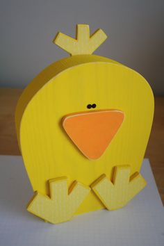 Wooden Easter Chick