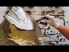 152 Bubbling Mud Pools Multi Spiral Pour - YouTube