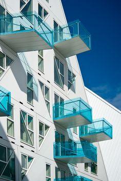 Isbjerget Aarhus : Iceberg – New Danish Housing Photo: Mikkel Frost