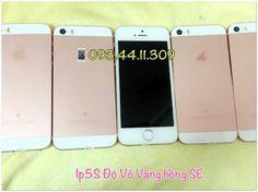 Iphone 5S-Lock Nhật-Trắng Lên vỏ iPSE Vàng Hồng.Mới999%.Mọi tính năng hoàn hảo.