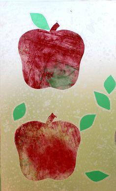 Apple art resist suncatcher