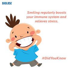 #DidYouKnow: The human smile is one of our most powerful expressions, and it is something we tend to take for granted. Read more: http://blog.biolase.com/waterlase/dont-forget-to-smile-12-reasons-why