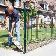 Cloture Rigide En Pente Cloture Pinterest Fence Home Decor Et