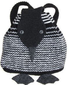 Morehouse Farm loon backpack knitting kit - I bet this could be adapted to a penguin...