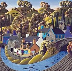 Artist George Callaghan is coming to the end of a prolific and critically acclaimed career. Art Works, Art Painting, Naive Art, Naïve Artist, Naive Painting, Art, Irish Art, Folk Art Painting, Love Art