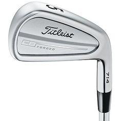 9ec7bfef751b Titleist Cb 714 Forged Single 8 Iron Steel True Temper Dynamic Gold X100  Value Ladies Golf