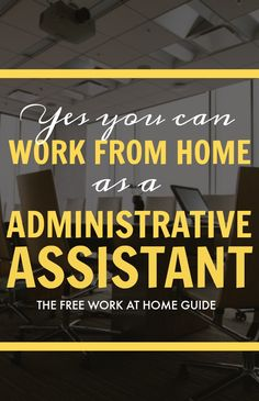 Working as a virtual administrative assistant is a great way to get paid online.