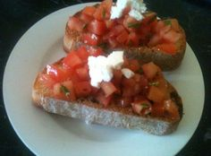 How to Make Awesome Bruschetta!