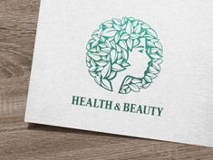 Health & Beauty Logo by IKarGraphics on Creative Market Source link Vector Logo Design, Logo Design Template, Logo Templates, Graphic Design, Logo Concept, Cool Logo, Cosmetology, Creative, Insurance Quotes